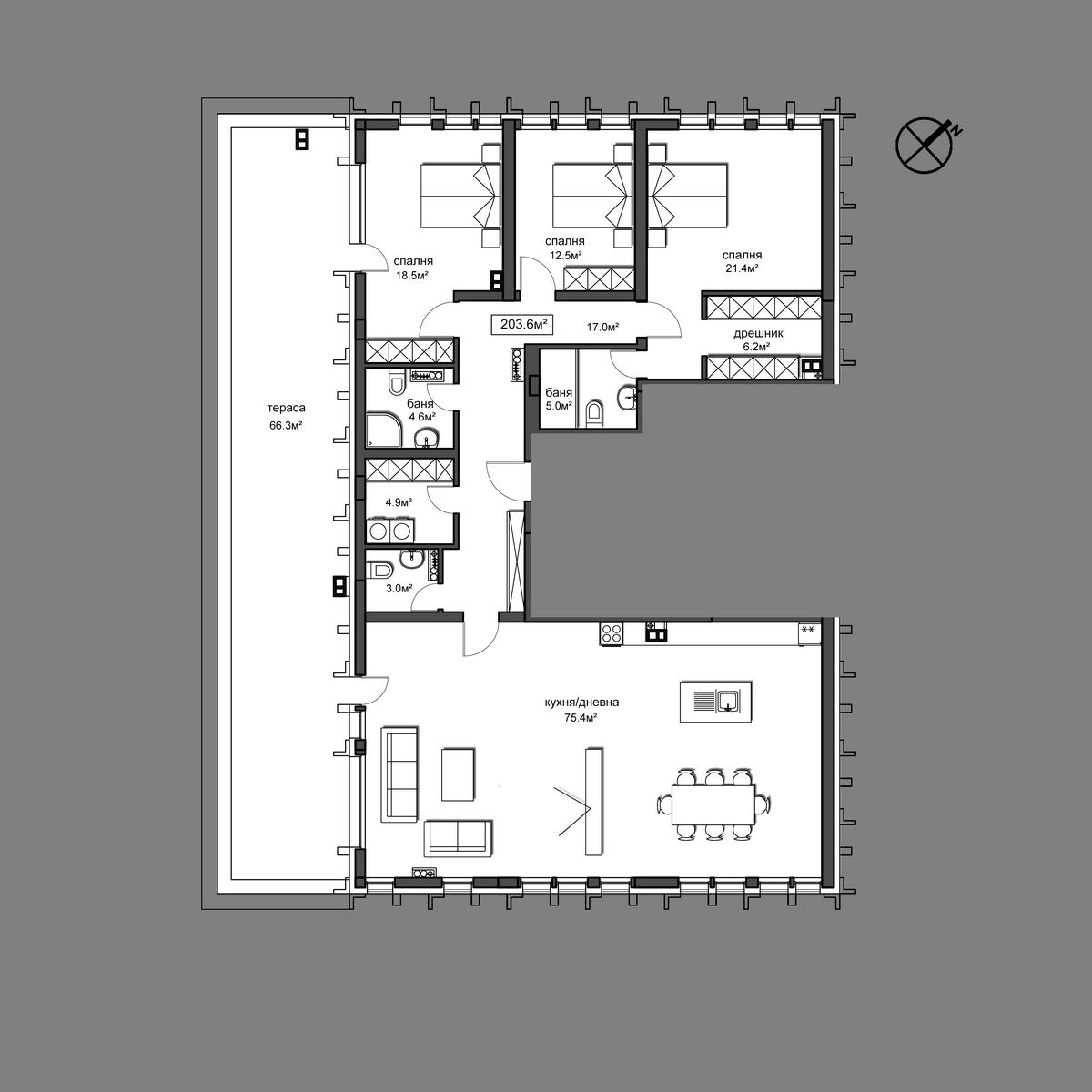 Продава апартамент - Апартамент 48