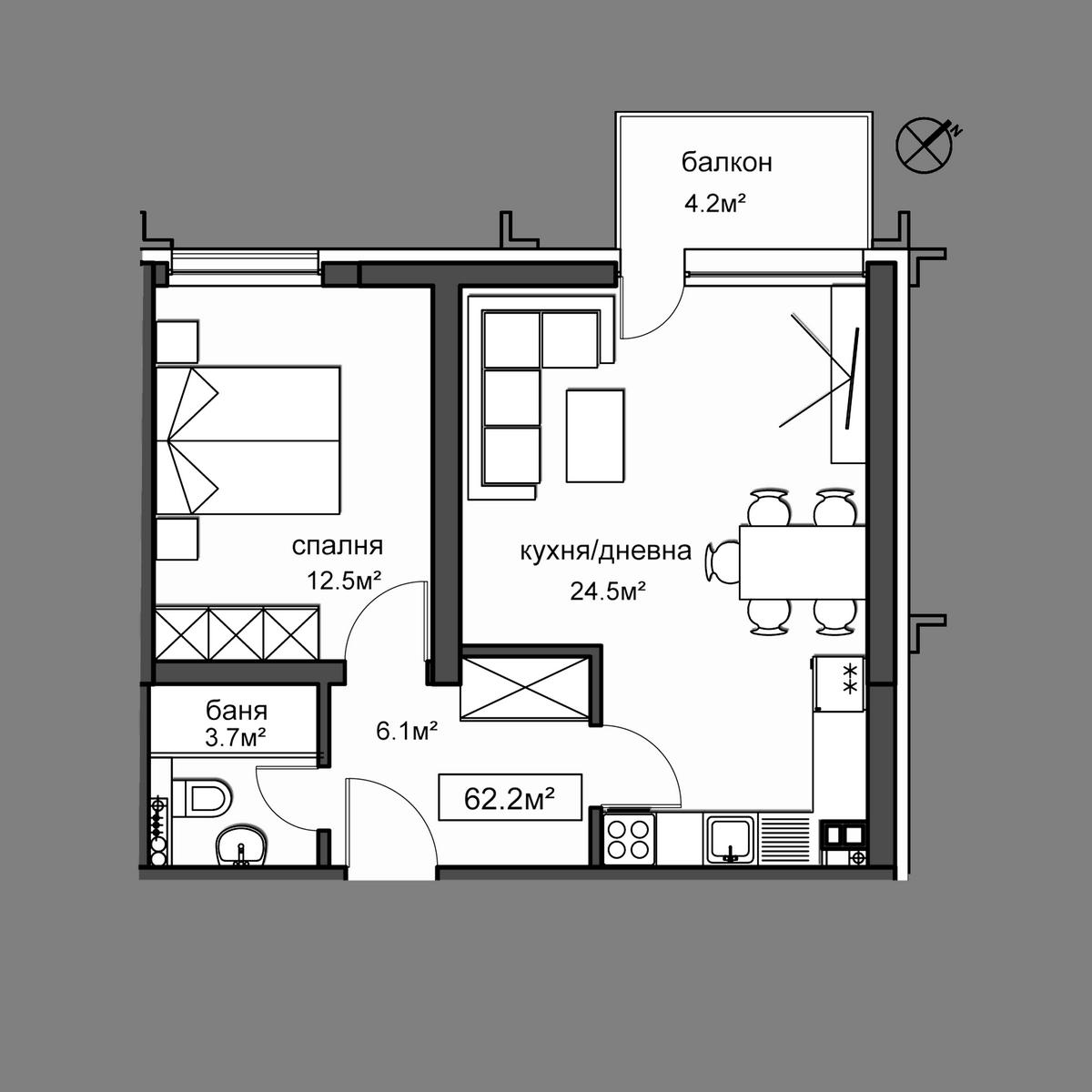 Апартамент  35