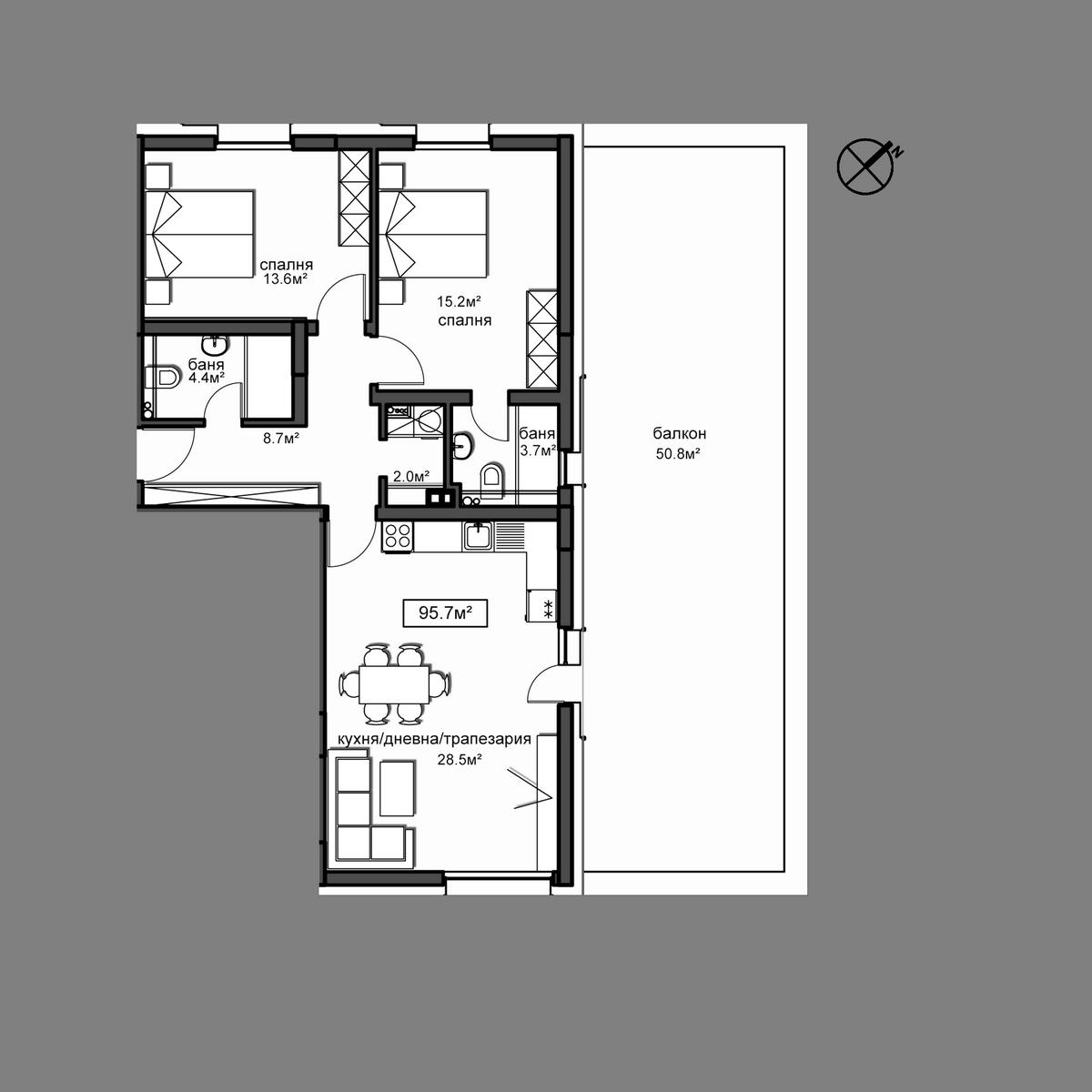 Апартамент  Б5