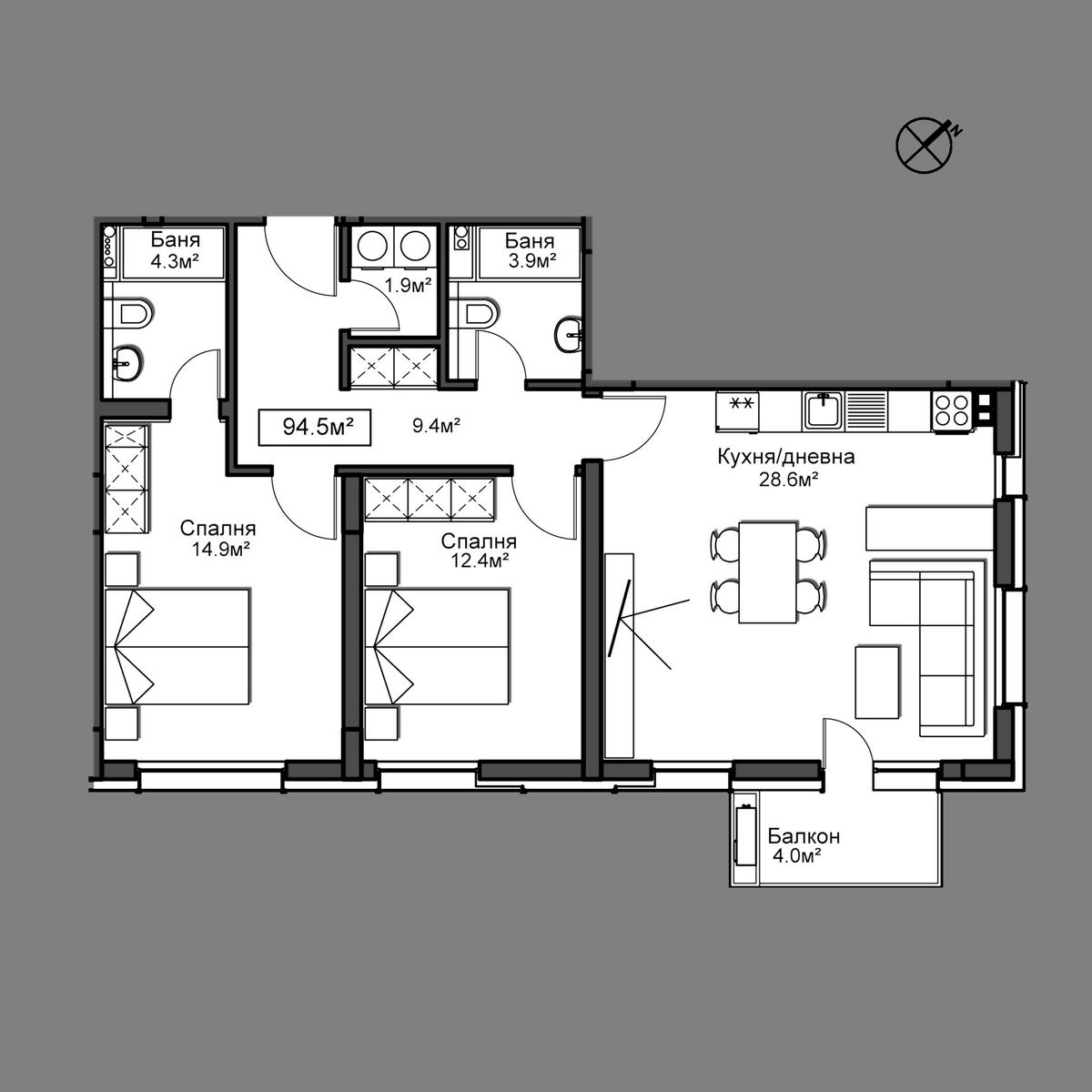 Апартамент 28