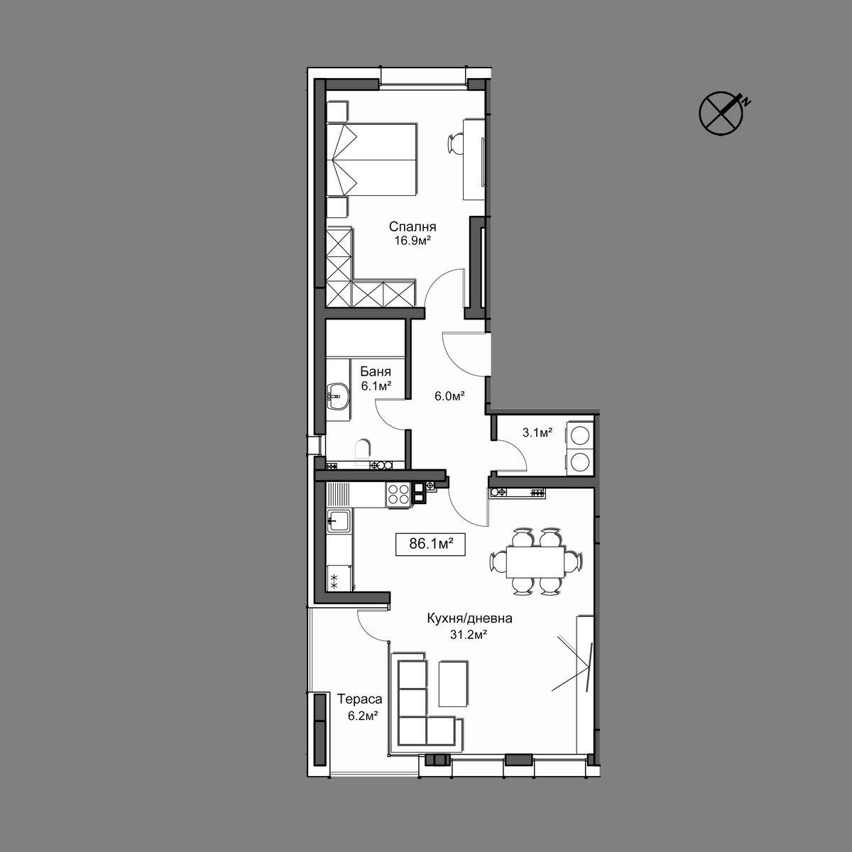 Апартамент 33