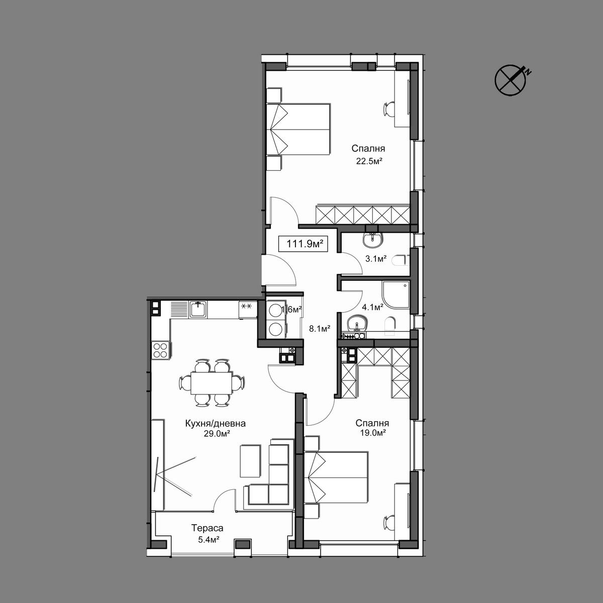 Апартамент 34