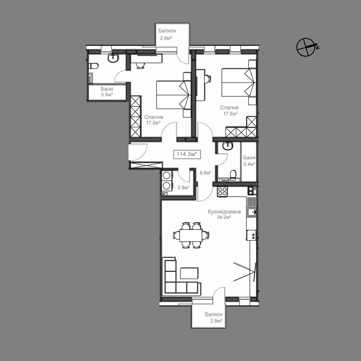 Апартамент А6