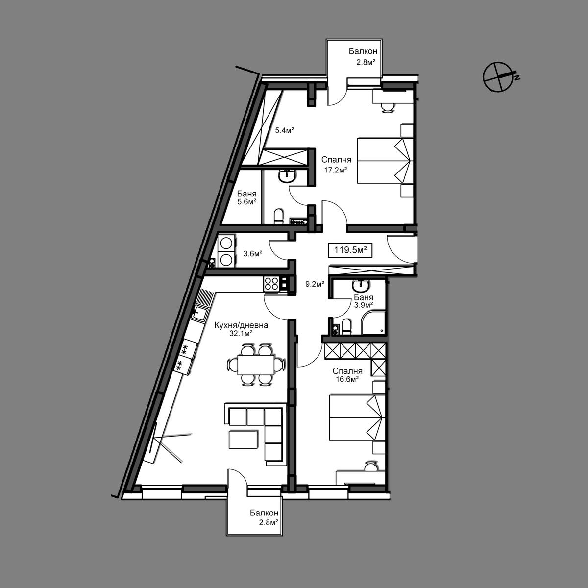 Апартамент А7