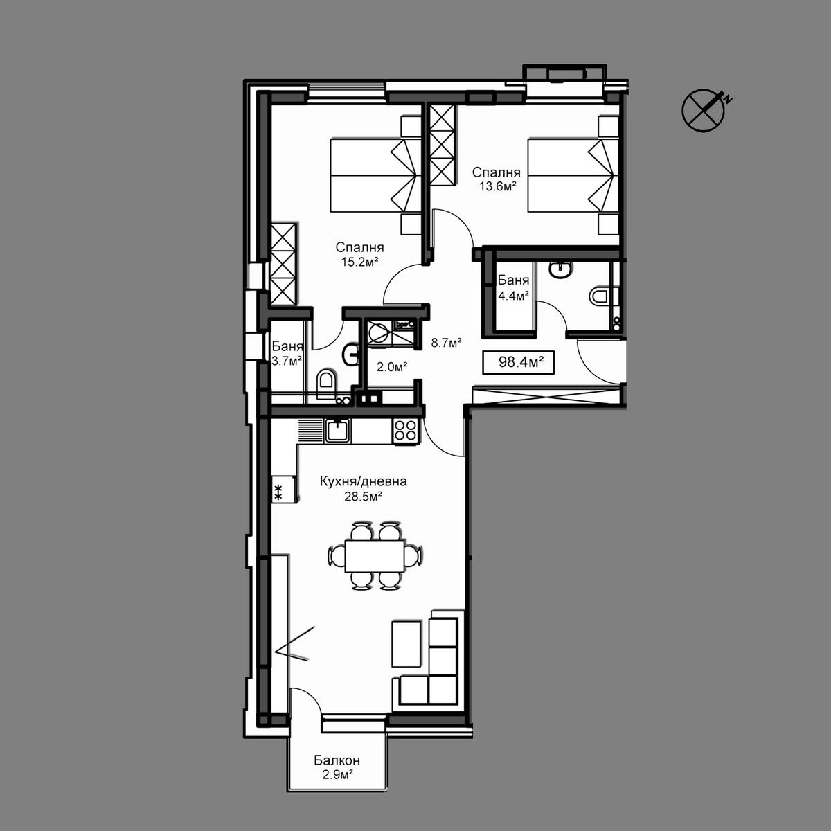 Апартамент А10