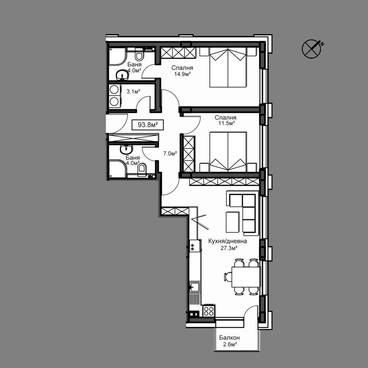 Апартамент В6